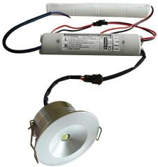 ETERNA LDLEM3  Led Emergency Downlight 1.5W
